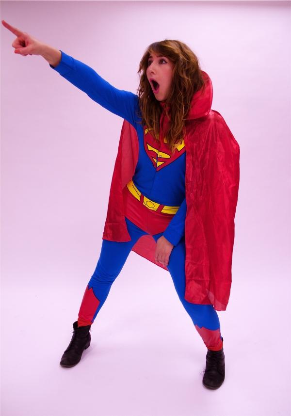 Costume Hire Supergirl