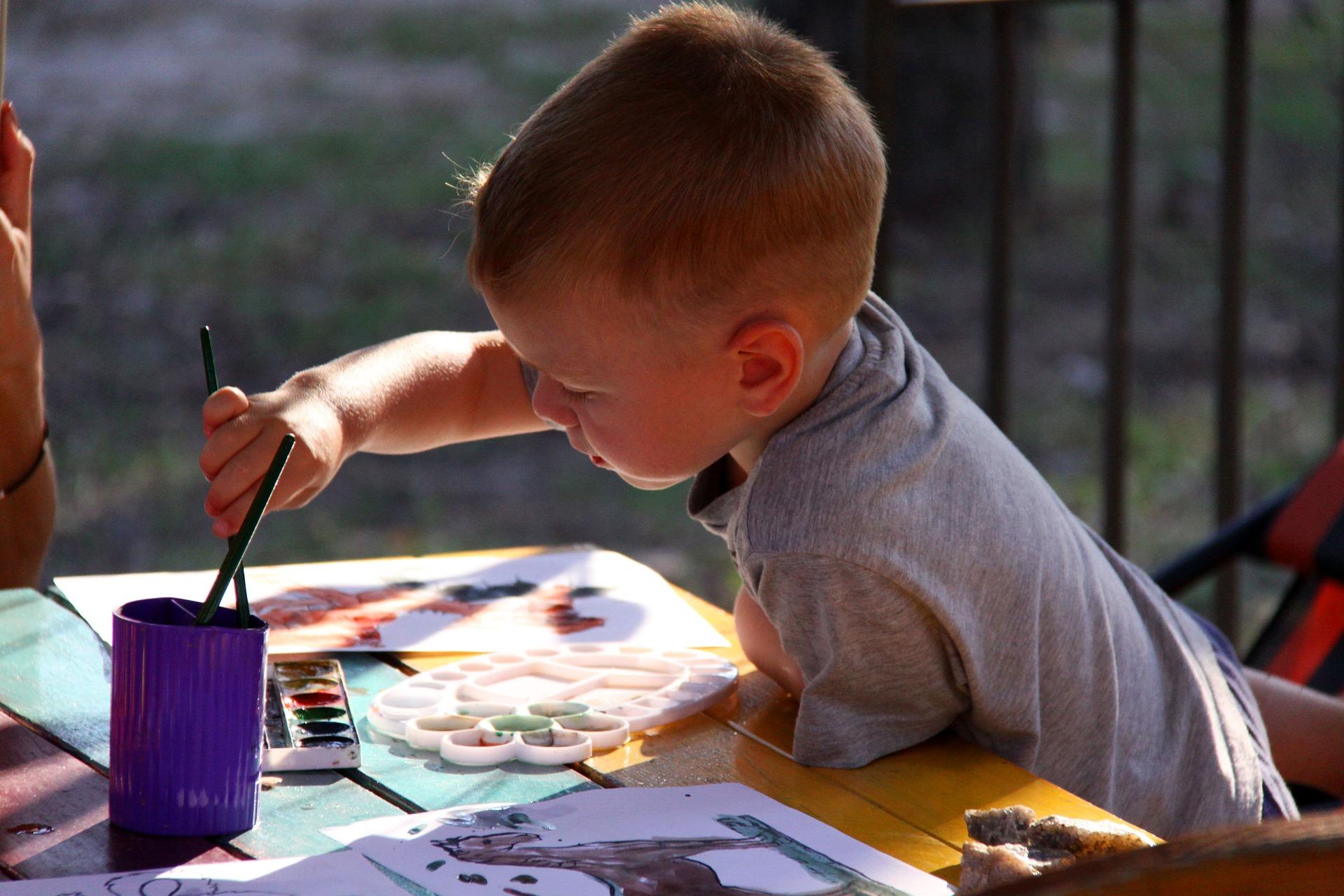 Art workshop for kids in London