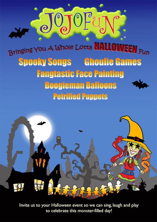 Halloween Children's Party Flyer